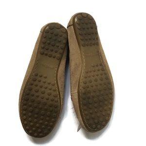 Minnetonka Shoes - 🍌Minnetonka Suede Fringe Feathers Moccasins 6.5